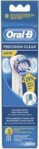 Braun Oral-B Aufsteckbürsten Precision Clean, 3er-Pack (848172)