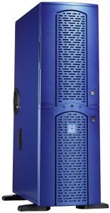 Chieftec matrix MA-01BLD Big-Tower with door, blue (various Power Supplies)