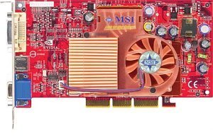 MSI MS-8912 FX5600-VTDR128, GeForceFX 5600, 128MB DDR, DVI, ViVo, AGP