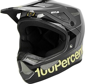 100% Status Fullface-Helm charby/charcoal (Junior) (80010-464)