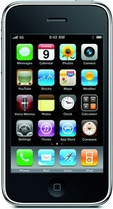 Apple iPhone 3GS white 32GB with branding