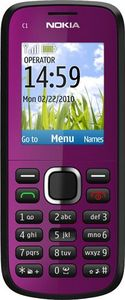 Nokia C1-02 dark plum