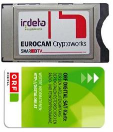 Cryptoworks incl. ORF card
