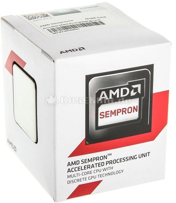 AMD Sempron 3850, 4x 1.30GHz, boxed (SD3850JAHMBOX) -- © caseking.de