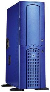 Chieftec Winner WA-01BLD Big-Tower with door, blue (various Power Supplies)