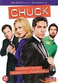 Chuck Season 4 (DVD) (UK)