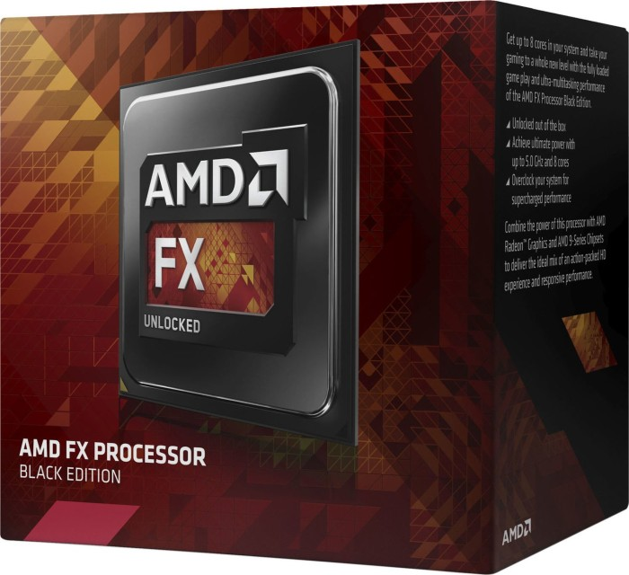 AMD FX-8350, 8x 4.00GHz, boxed (FD8350FRHKBOX)