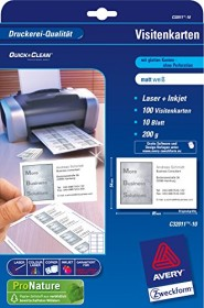 Avery Zweckform Superior Visitenkarten 200g 500 Blatt C32011 500 Ab 299 99