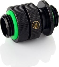 "Bitspower Touchaqua Link Adapter Female 1/4"", 16-22mm verstellbar, Glorious Black, 2er-Pack (TA-GFALP1622-GB)"