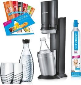 SodaStream Crystal 2.0 Promopack Trinkwassersprudler schwarz (1216512493)