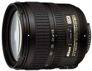 Nikon AF-S DX  18-70mm 3.5-4.5G IF-ED (JAA790DA)
