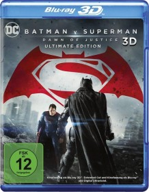 Batman v Superman: Dawn of Justice (3D) (Blu-ray)