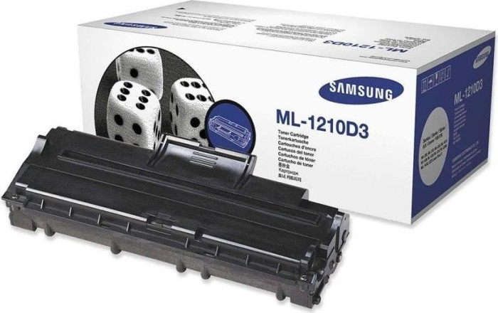 Samsung ML-1210D3 Drum with Toner black -- via Amazon Partnerprogramm
