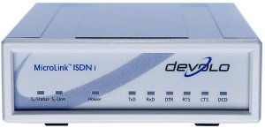 devolo MicroLink ISDN i, serial (AT/DE) (0156/1990)