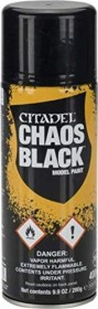 Games Workshop Citadel Spray 62-02 chaos black primer (99209999042)