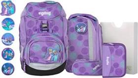 Ergobag pack SchlittenzauBär Glow school backpack set 6-piece. (ERG-SET-001-9AB)