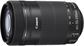 Canon EF-S 55-250mm 4.0-5.6 IS STM schwarz (8546B005)