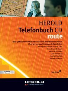 Herold Telefonbuch CD Route 1/2004 (PC)