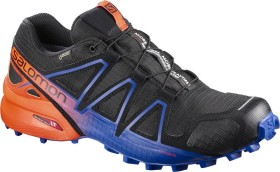 Salomon Speedcross 4 GTX LTD black/scarlet ibis/surf the web (Herren) (401774)