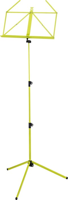 König & Meyer 100/1 Notenpult gelbgrün (10010-000-31)