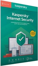 Kaspersky Lab Internet Security 2020, 5 User, 1 year, PKC, FFP (German) (Multi-Device) (KL1939G5EFS-20FFP)