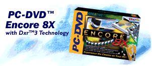 Creative PC-DVD Encore 8x