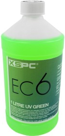 XSPC EC6 Coolant UV Green, coolant, UV-active, 1000ml (5060175582782)