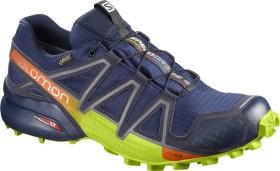 Salomon Speedcross 4 GTX medieval blue/acid lime/graphite (Herren) (400938)