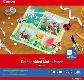 Canon MP-101D Fotopapier 30x30cm, doppelseitig bedruckbar, 240g/m², 30 Blatt (4076C007)