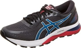 Asics Gel-Nimbus 21 black/electric blue (Herren) (1011A169-005)