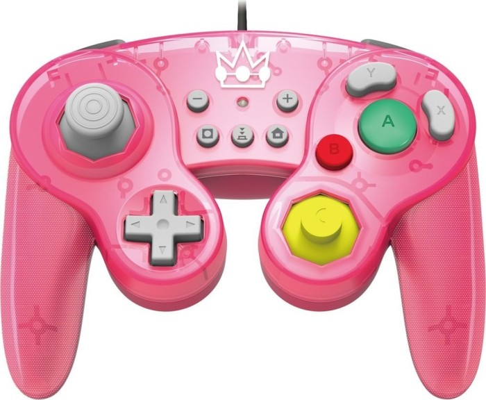 Hori Battle Pad controller Peach Edition pink (switch) (NSW-135U)