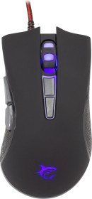 White Shark Spartacus Gaming Mouse schwarz, USB (GM-1601 BLACK)