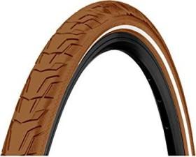 "Continental Ride City 28x1.375x1.625"" Tyres brown reflex (0101604)"