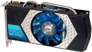 HIS Radeon HD 7770 GHz Edition IceQ X, 1GB GDDR5, DVI, HDMI, 2x mini DisplayPort (H777QN1G2M)