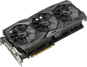 ASUS AREZ Strix Radeon RX 580 TOP, AREZ-STRIX-RX580-T8G-GAMING, 8GB GDDR5, DVI, 2x HDMI, 2x DP (90YV0AK3-M0NA00)