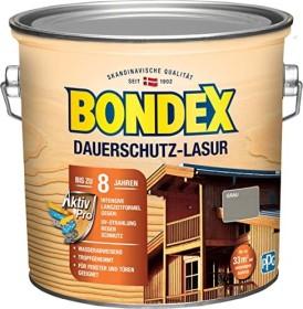 Bondex Dauerschutz-Lasur Holzschutzmittel grau, 2.5l (377907)