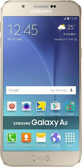 Samsung Galaxy A8 Duos A800F DS Gold