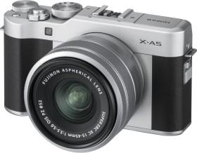 Fujifilm X-A5 silber mit Objektiv XC 15-45mm 3.5-5.6 OIS PZ
