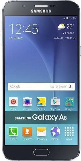 Samsung Galaxy A8 Duos A800F DS Schwarz