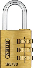 ABUS 165/30, Combination lock (20360)