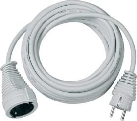 Brennenstuhl Verlängerungskabel [Kunststoff] IP44 weiß H05VV-F 3G1.5, 10m (1168460)