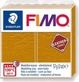 Staedtler Fimo Soft 57g leather effect ocker (8010-179)