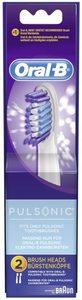 Braun Oral-B końcówki do szczoteczek elektrycznych Pulsonic, sztuk 2 (852605)