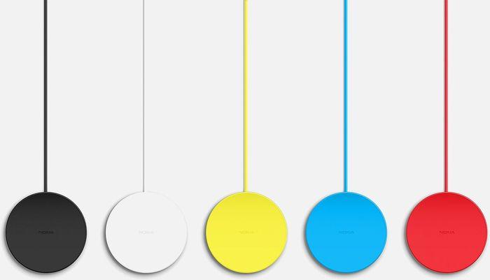 Nokia DT-601 drahtlose Ladestation gelb