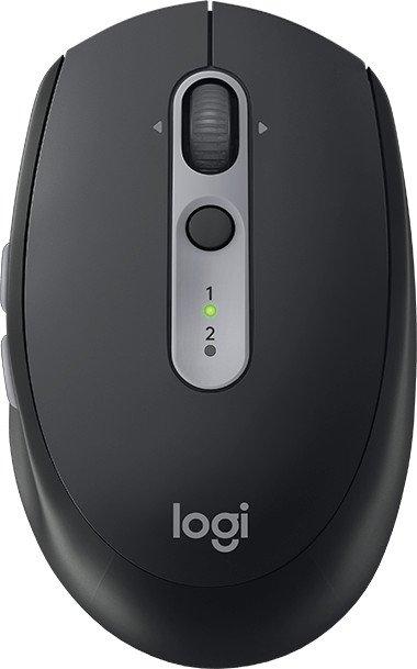 Logitech M590 Multi-Device Silent, schwarz, USB/Bluetooth (910-005197)