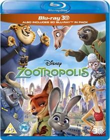 Zootropolis (3D) (Blu-ray) (UK)