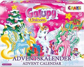 Craze Galupy Unicorn Advent Calendar 2019 (19450)