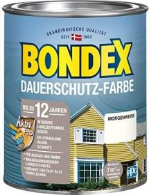 Bondex Dauerschutz-Farbe Holzschutzmittel morgenweiß, 750ml (372205)