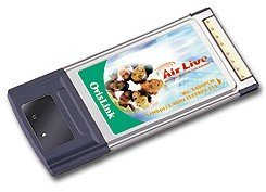 OvisLink AirLive 802.11g Wireless PCMCIA Adapter (WL-5400PCM)