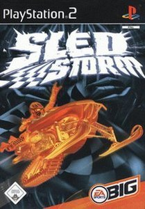 Sled Storm (German) (PS2)